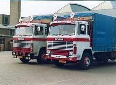 Scania 110 en 111 DT-26-MB noord rijnsburg