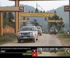 Confini amministrativi - Riigipiirid - Political borders - 国境 - 边界: 2007 LA-VN Laos-Vietnam Laos-Vietnam