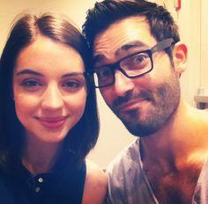 Teen Wolf ~ Adelaide Kane and Tyler Hoechlin (Cora and Derek Hale)