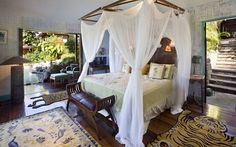 Mandalay, the fantasy, Balinese-style home built for rock star David Bowie on the Caribbean island of Mustique