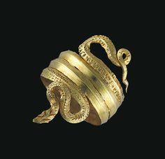 A GREEK GOLD SNAKE RING - LATE HELLENISTIC PERIOD, CIRCA 1ST CENTURY B.C. | Christie's