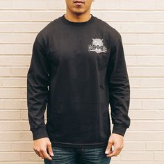 Corporate Seek L/S (Black) $35