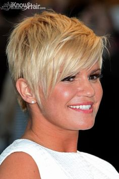 Kerry Katona short hair