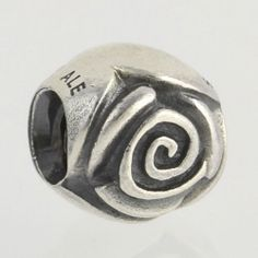 NEW Genuine Pandora Charm - Sterling Silver Silver Rose 790394 ALE 925 Pendant $29.99