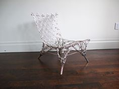 """Chrome""""Knotted Chair"""" by Marcel Wanders 