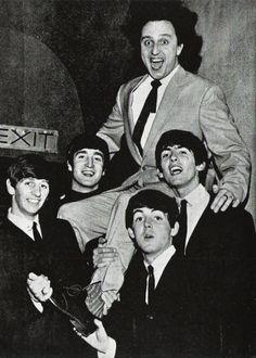The Beatles with Ken Dodd, BBC Studios, 9 October 1963.