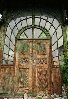 Oude Houten Deuren Stock Foto's - Beeld: 5584343