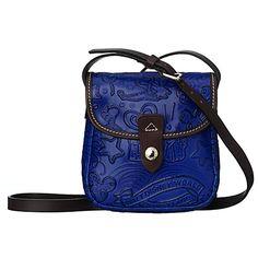 Disney Sketch Leather Small Crossbody Bag by Dooney & Bourke - Blue LOVE