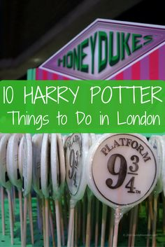 Harry Potter Things to Do in London 10 Harry Potter Things to Do in London for films and book fans. This list and video show you the best Harry Potter activities in London.FANS FANS may refer to: Travel Outfit Summer Airport, Harry Potter Activities, Harry Potter London, London With Kids, London Blog, London Attractions, England And Scotland, Scotland Trip, Things To Do In London