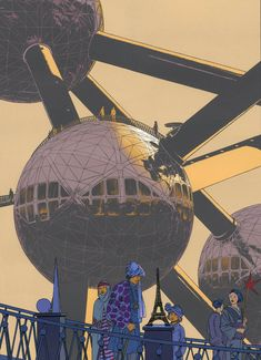 Jeroen Apers - The drawings of François Schuiten Street Art, City Painting, The Future Is Now, Fictional World, Fantasy, Modern Retro, Retro Futurism, Dieselpunk, Comic Artist