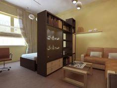 дизайн комнаты 16 кв м в однокомнатной квартире фото с перегородкой: 26 тыс изображений найдено в Яндекс.Картинках