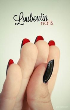 louboutin nails @touka kelly