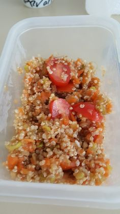 Salade de quinoa légumes croquants thermomix
