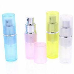 Taschenzerstäuber, Parfümzerstäuber Pump Zerstäuber für Unterwegs, 8ml, Silber | Your #1 Source for Beauty Products