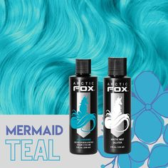 Did someone say mermaid hair? 👀🧜♀️ Get this look by mixing Arctic Mist with a bit of Aquamarine #AFarcticmist #AFaquamarine Arctic Fox Aquamarine, Aquamarine Blue, Dyed Hair Blue, Hair Color Blue, Arctic Fox Hair Color, Semi Permanent Hair Color, Bright Hair, Deep Teal, Dark Shades