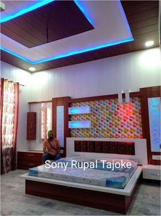 I love my work Living Room Partition Design, Pooja Room Door Design, Room Partition Designs, Living Room Tv Unit Designs, Bedroom False Ceiling Design, Luxury Bedroom Design, Bedroom Closet Design, Bedroom Furniture Design, Bed Furniture