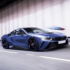 Awesome BMW i8 design by @bengalaautodesign | #blacklist #bmw #i8