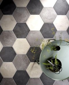 Casablanca Dark Grey, Light Grey & Black Base Hexagon.jpg