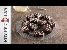 Σοκολατένιες μπουκιές με χουρμάδες Επ. 06 | Kitchen Lab TV - YouTube Chocolate Caramels, Greek Recipes, Breakfast, Sweet, Desserts, Chocolates, Food, Youtube, Morning Coffee