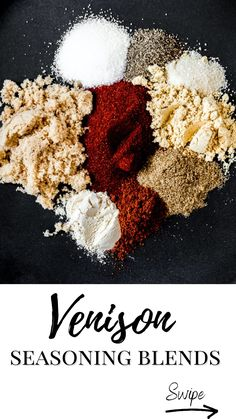 Ground Venison Recipes, Deer Meat, Meat Recipes, Spices, Archery Hunting, Game, Food, Venison, Spice