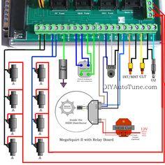 10 best megasquirt images fuel injection, mopar, car humormegasquirt carb to efi conversion part 3 mpfi conversion
