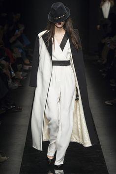 Soft layers - Vogue: Emanuel Ungaro Fall 2015 RTW Runway