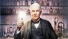 Thomas Edison and The Light Bulb. A short inspirational story.
