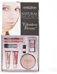 Colour Couture 8-pc. Natural Nudes Makeup Kit - Great gift for her.