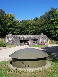 Fort de Schoenenbourg /Artilleriewerk Schoenenbourg /Eingang/ entrée ...