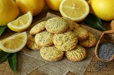Lemon and Chia Cookies Easy To Make Cookies, Easy Cookie Recipes, Vegan Recipes, Sugar Glass, Biscuits, Dessert Sans Gluten, Complete Recipe, Turkish Recipes, Vegan Butter
