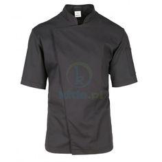Bluza kucharska czarna Devil, Chef Jackets, Sports, Tops, Fashion, Hs Sports, Moda, Fashion Styles, Sport