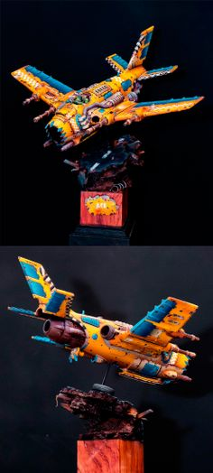 40k - Ork Bomber by Light_one