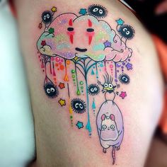 A new take on a spirited away tattoo... Hmm