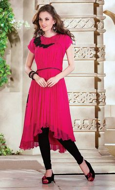 USD 101.24 iffon Party Wear Kurti    34975