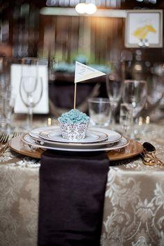 Cupcake Wedding Favor