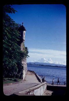 Guardhouse at La Fortaleza. Walkways 1944-1947