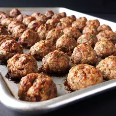 Meatballs that are tender & juicy, meaty & flavorful. Devour the meatballs as is or use them in any variety of dishes. Mince Recipes, Meatball Recipes, Beef Recipes, Cooking Recipes, Mince Meals, Recipies, Mince Dishes, Pork Dishes, Best Fruit Cake Recipe