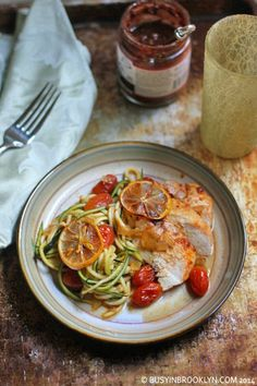 Busy in Brooklyn » Harissa Roasted Chicken with Preserved Lemons and Tomatoes