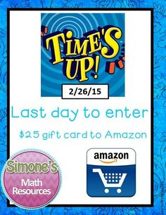 Last day to enter for a chance to win a $25 gift card to Amazon .com
