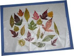 How to Make Leaf Crafts Using Real Leaves as Inspiration