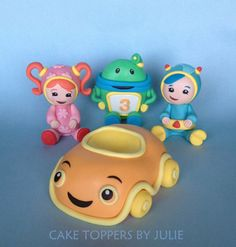 Team Umizoomi toppers