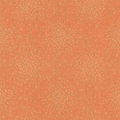 2532-62104 Orange Modern Floral - Summer - Bath Bath Bath IV Wallpaper by Brewster