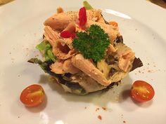 Ensalada de alcachofas con foie. Restaurante Roma, en Barcelona