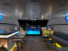 Amazin yacht interior