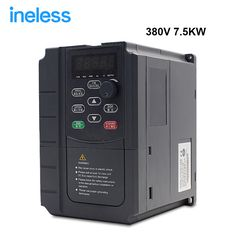 VFD Inverter 5.5 Kw 380 V Vector Variable Frequency Drive Inverter Vfd 7.5 Hp Cnc Spindle Dhl free Shipping #Affiliate