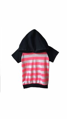 Black and neon pink stripes Light weight t shirt by Allsnazziedup