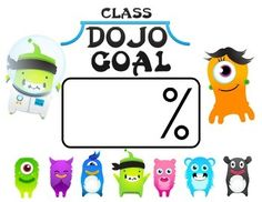 Class Dojo is a great classroom management website and app. Use these free posters to focus your students on a particular goal for the day or week. The goal can be for the class as a whole or for individual students.