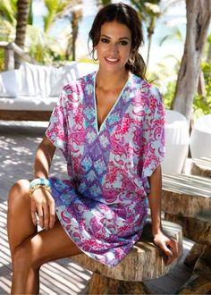 Robe tunique pour plage