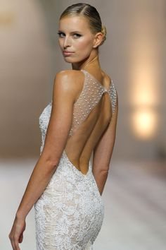 """Atelier Pronovias 2015 Wedding Dress Collection """"50 Years Dressing Dreams"""" 50th Anniversary Presentation  http://storyboardwedding.com/atelier-pronovias-wedding-dress-2015-collection"""