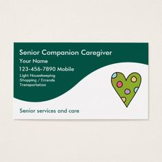 Home health aid business cards home health aide pinterest senior caregiver business cards colourmoves